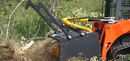The Heavy-Duty Forestry Mulcher is a land clearing machine for breaking trails, leveling building sites, and clearing storm damage.