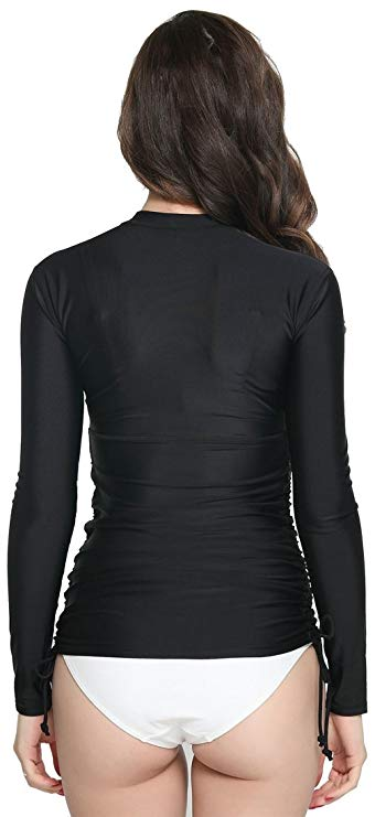 ilishop Women's UV Sun Protection Long-Sleeve Swimwear