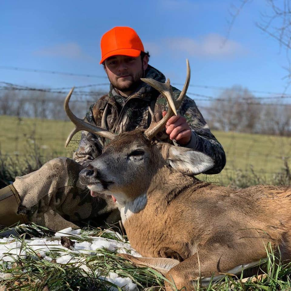 Whitetail Buck+Doe+Turkey Hunt Missouri for 2 Hunters