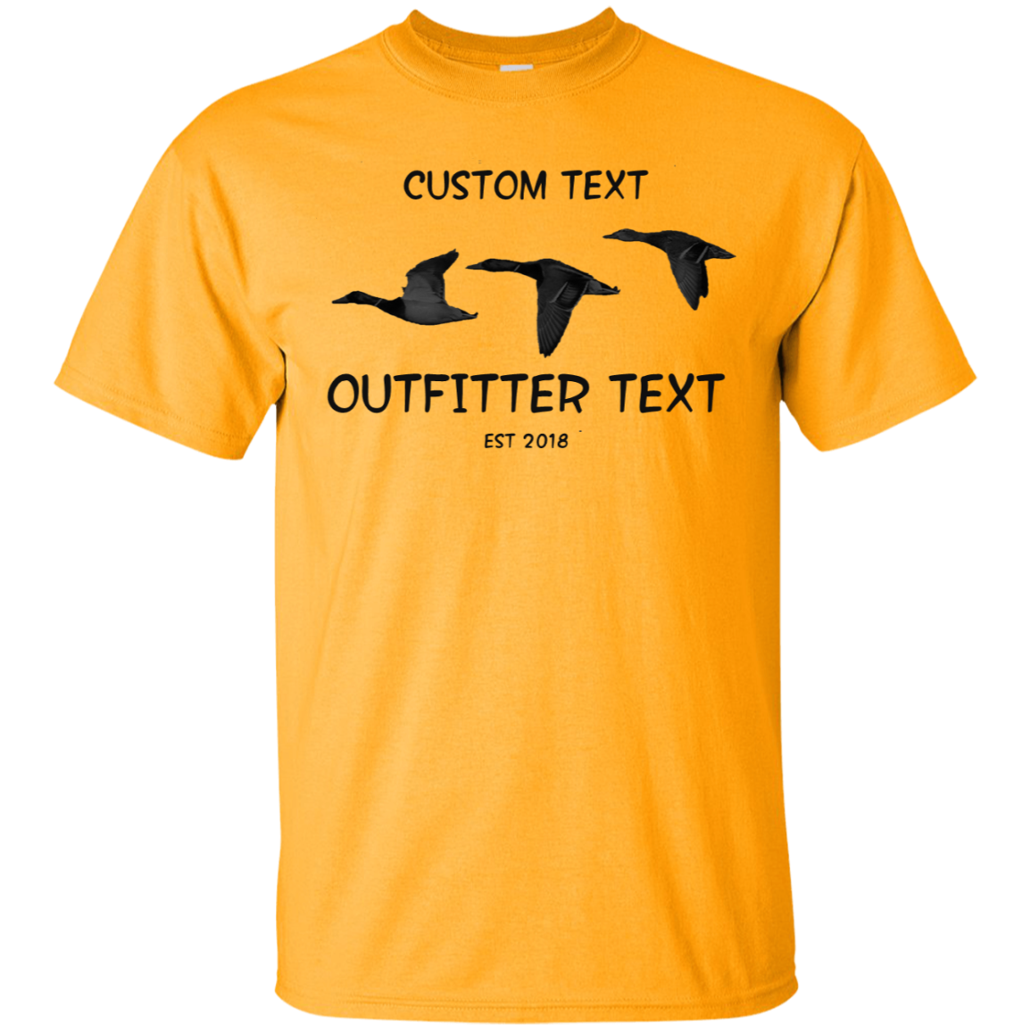 Duck Outfitter Custom Tee