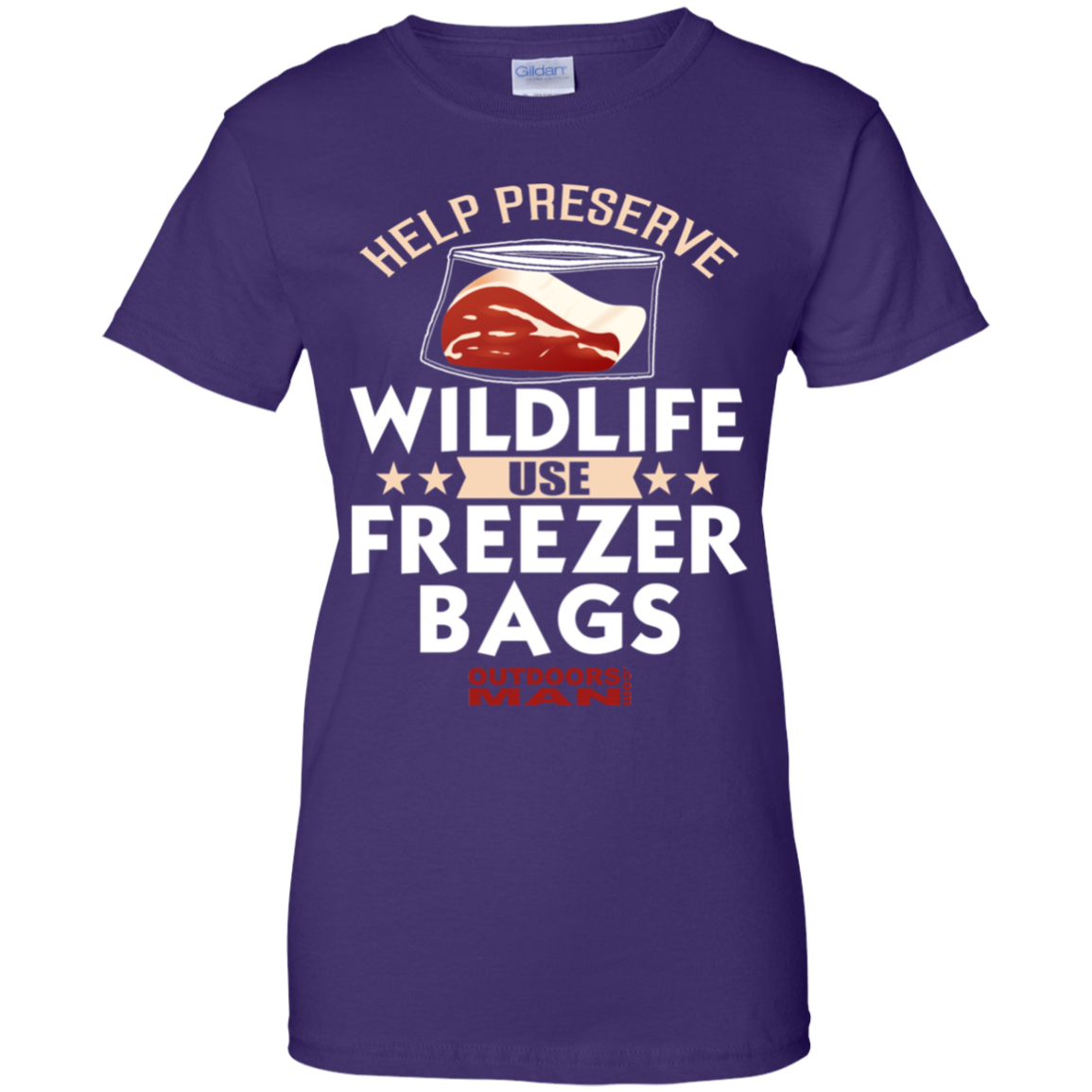 Ladies'  Preserve Cotton T-Shirt