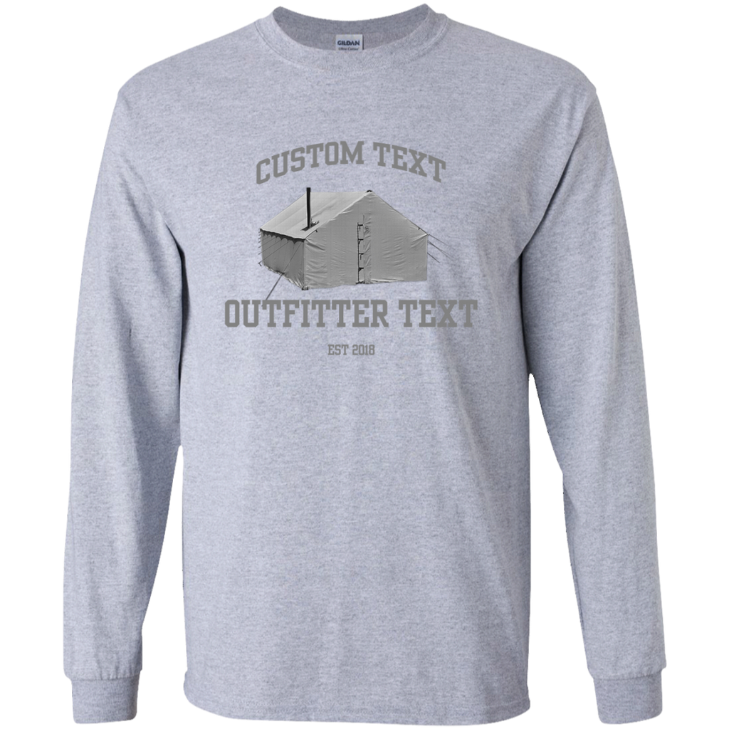 Wall Tent Outfitter Custom LS Tee