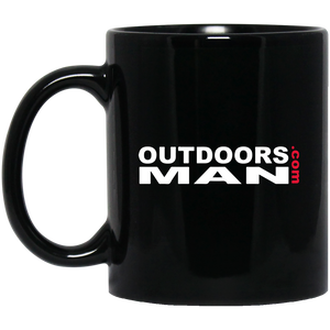 OUTDOORSMAN® Black Mug