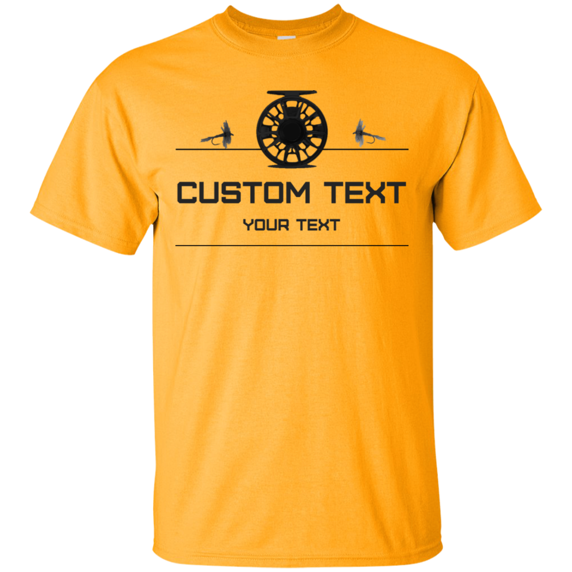 Fishing Reel Outfitter Custom Tee