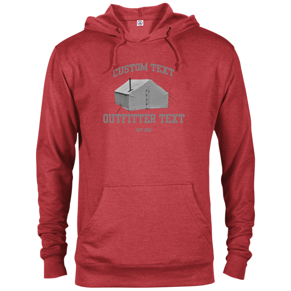 Wall Tent Outfitter Custom Hoodie