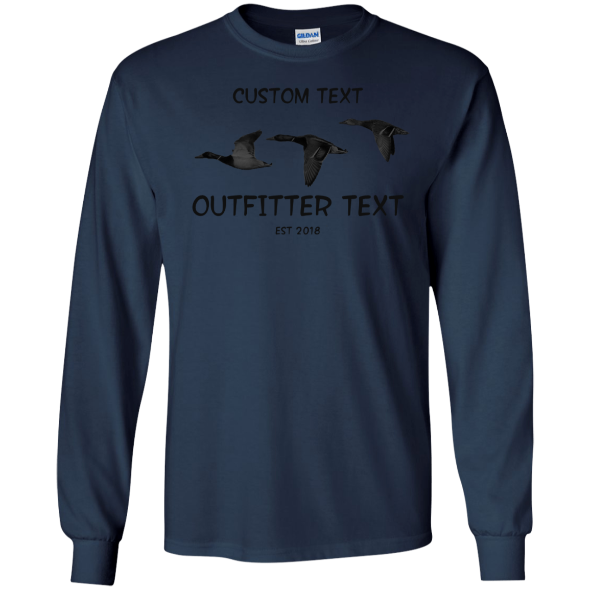 Duck Outfitter Custom LS Tee