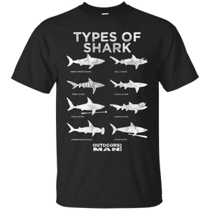 OUTDOORSMAN® Types of Sharks