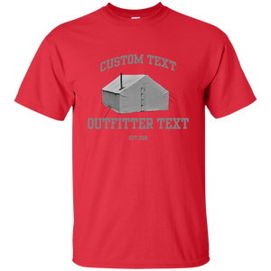 Wall Tent Outfitter Custom Tee