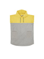 Kids Poncho Sunkissed-Yellow