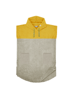 Poncho Short Sunkissed-Yellow