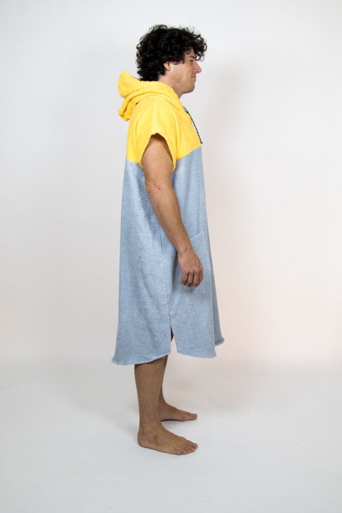 Poncho Long Sunkissed-Yellow