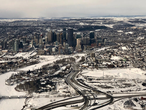 YYC International Airport to Downtown Core / Surrounding Areas