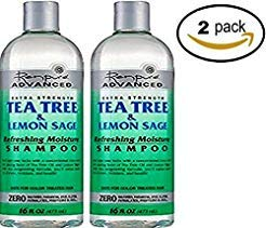 Renpure Advanced Extra Strength Tea Tree &Amp; Lemon Sage Refreshing Moisture Shampoo 16Oz  Renpure