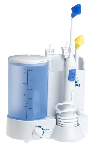 Grossan Hydro Pulse Nasal And Sinus Irrigation System With The Original Grossan Sinus Tip - 120V/60Hz