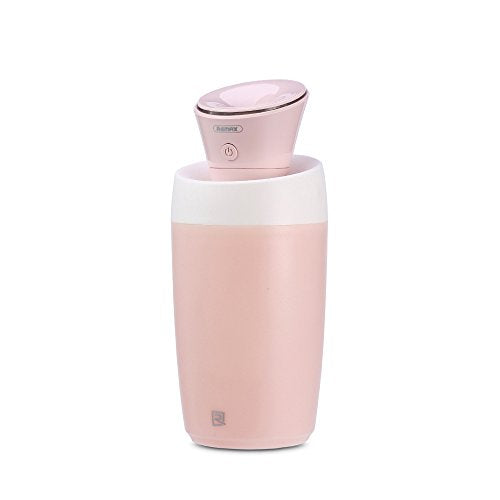 Remax Cool Mist Humidifier Auto Shut-Off, Mini Humidifier Whisper-Quiet, Ultrasonic Cool Air Humidifiers For Babies, Usb Powered Humidifiers For Bedroom-Pink