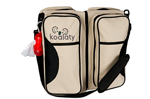 Travel Diaper Bag-Portable Bassinet By Koalaty: Superior Quality, Ultimate 3 In 1 Convertible Baby Bag For Mom & Dad, Sturdy, Stylish, Trendy Travel Bassinet+ Change Station