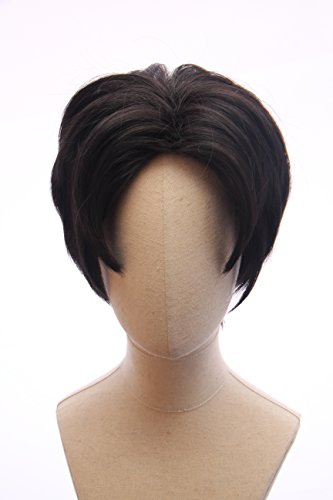 Black Short Anime Cosplay Hunk Costume Wig Inspired By Voltron