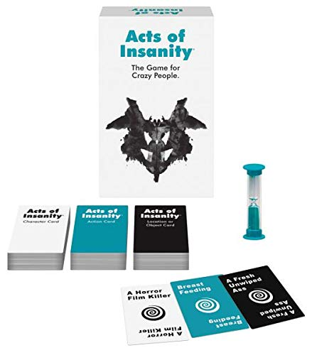 Acts Of Insanity Party Games, Kheper Games, 4 To 12 Players