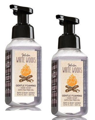 Bath And Body Works Winter White Woods Gentle Foaming Hand Soap. 8.75 Oz.