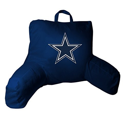 Nfl Dallas Cowboys Bed Rest Pillow, 20.5 X 21