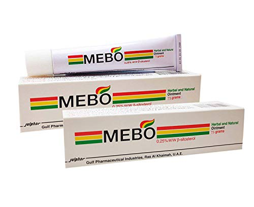 Mebo Burn Fast Relief Pain Cream Skin Healing Ointment Wound &Amp; Scar No Marks Care Fast First Aid Health Beauty Care (2 Tubes X 75 Grams)