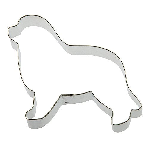 Foose Newfoundland Dog Cookie Cutter 5.25 In