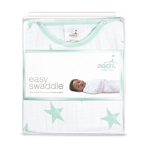 Aden By Aden + Anais Easy Swaddle, Dream - Stars- S/M