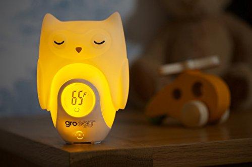 The Gro Company Gro-Egg Shell Cover Thermometer, Orla The Owl