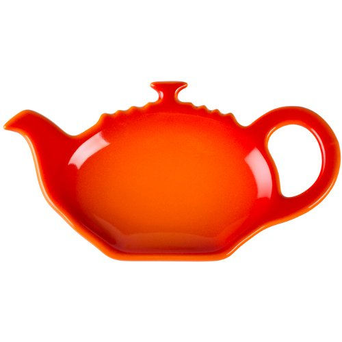 Le Creuset Flame Stoneware Tea Bag Holder