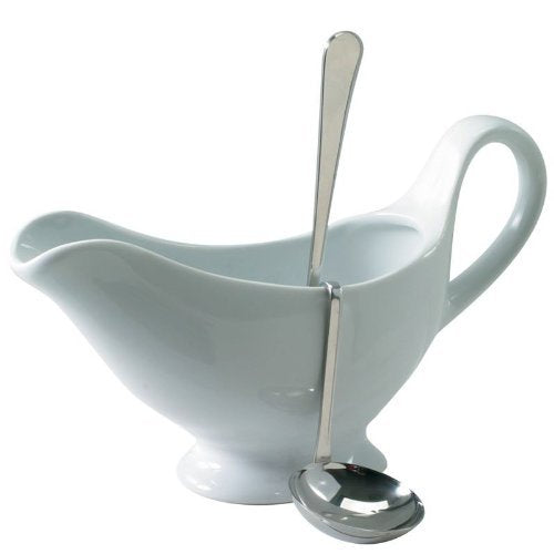 Stainless Steel Hanging Gravy Ladle - 6.5 Inch