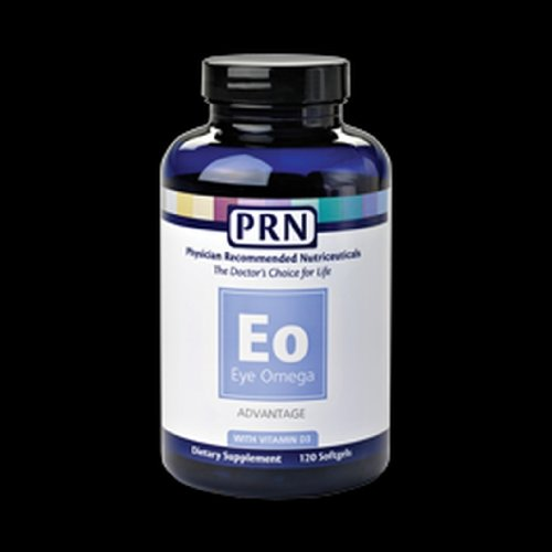 Physician Recommended Nutriceuticals Prn Eye Omega Advantage 120 Soft Gels