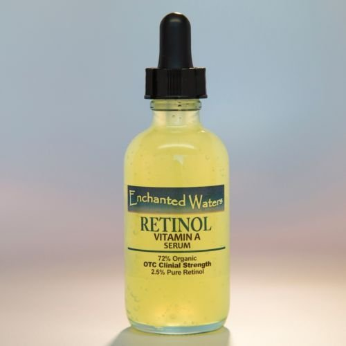 Pure Retinol Vitamin A 2.5% + Hyaluronic Acid - Retinol Wrinkle Cream / Serum#1.2Oz