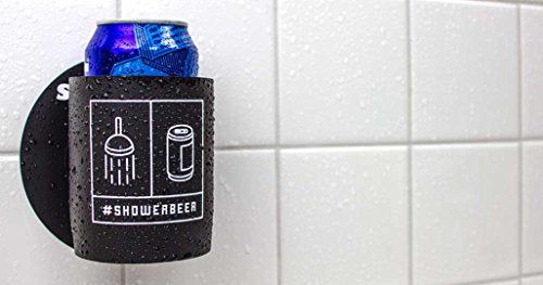 Shakoolie -  #Showerbeer  - Shower Beer Holder