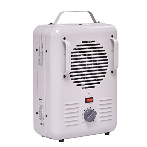 Tangkula 1500W Electric Portable Quart Heater Thermostat Room Air Heating Wall