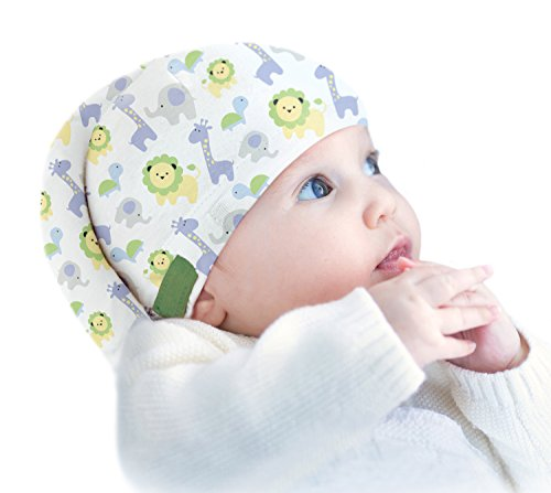 Tortle Newborn Hat, Adjustable Head Support Prevents Flat Head, Fda Cleared, Neck Positioner, Animal Party, Small