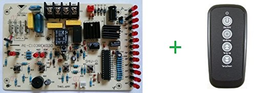 Pc Control Board And Remote Control - Parts For Edenpure 1000 Gen3 &Amp; Suntwin 1500 Gen3 Infrared Heater