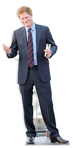Prince Harry Lifesize Standup Cardboard Cutouts 73 X 32In