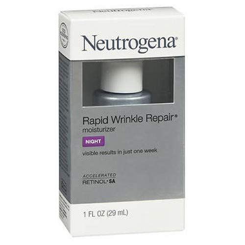 Neutrogena Rapid Wrinkle Repair Moisturizer 1 Ounce Night (29Ml)
