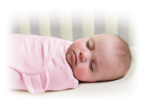Summer Infant Swaddleme Adjustable Infant Wrap, Pink, Small/Medium