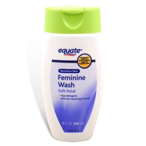 Equate - Feminine Wash, Sensitive Skin, Soft Petal, 9 Oz (Compare To  Summer'S Eve)