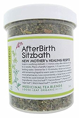 Wishgarden Herbs - Afterbirth Sitzbath (New Mother'S Healing Respite) Jar