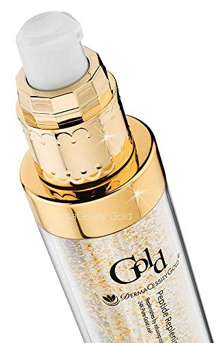 #1 Best 24K Pure Gold Leaf Peptide Replenishing Serum | Most Luxurious | Exclusive By Dermacessitygold! Net 50G
