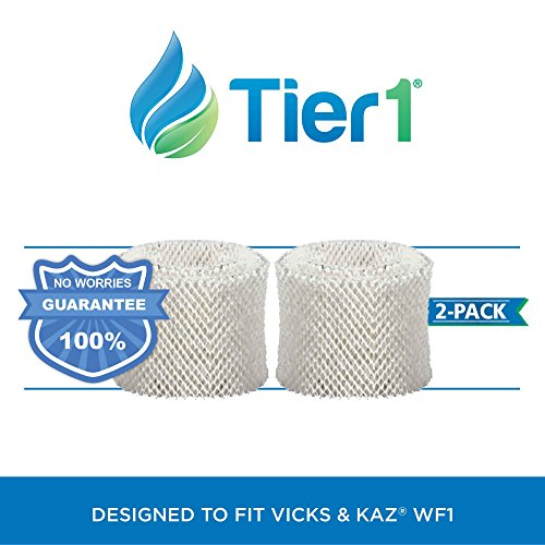 Tier1 Kaz Wf1 / Emerson Hdf-1 Comparable Humidifier Wick Filter Replacement For Models 885, 3000, 3300, 3400, Ev710, Emerson Hd1021, Hd200, Hd300, Hd3000, Hd400, Hd4000,