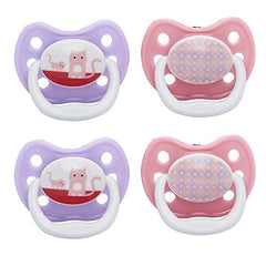 Dr. Brown'S Prevent Classic Pacifier, Stage 2 (6-12M), Unique Pink/Purple,