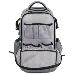 Utopia Alley Allcamp Diaper Bag, Capacity Support Any Baby Stroller With Changing Pad, Grey