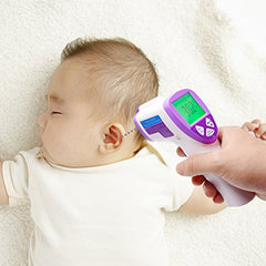 Cosscci Medical Digital Infrared Baby Thermometer , Non-Contact Electronic Forehead And Ear Thermometer For Kids Infants Adults With Instant Read, Highly Accurate Digital Multi-Functional