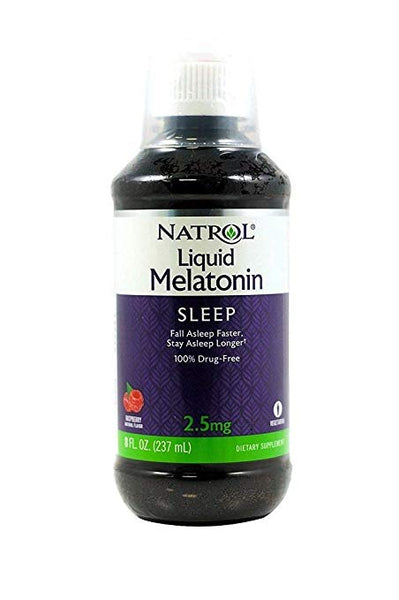 Natrol Melatonin Liquid, 2.5Mg, 8Oz; With Cup