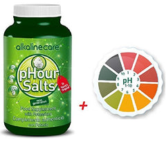 Combo Pack (Phour Salts In Capsules - Alkalinecare Helps Body'S Remineralization, Helping Your Muscles, Bones And Joints Stay Youthful. Alkaline Care + 5M Ph Paper Roll High Precison)