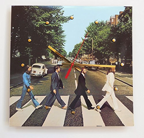 The Beatles Authentic Record Cover Clock (Abbey Road)