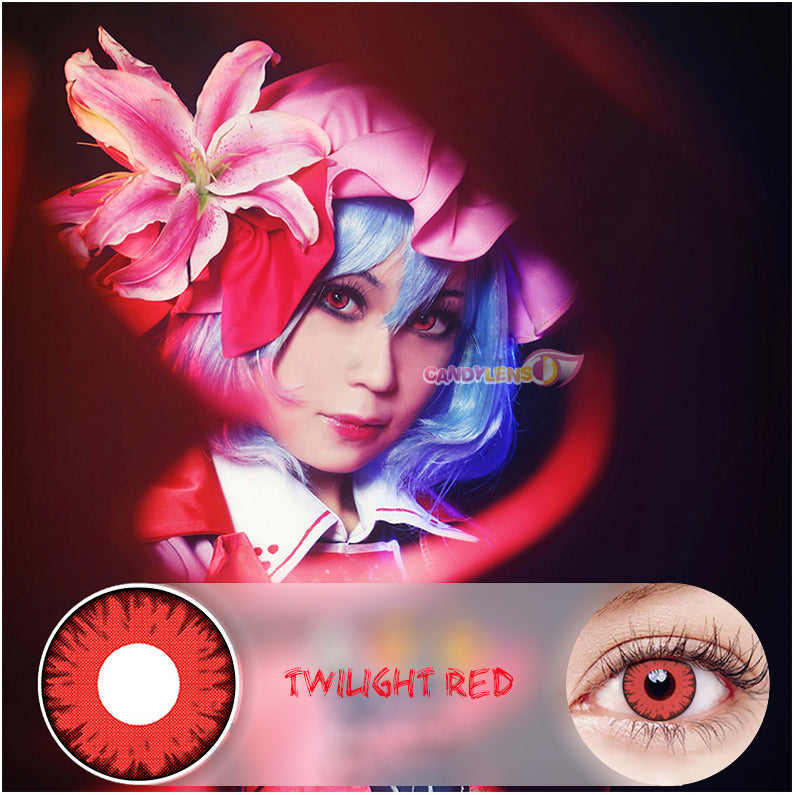 Halloween Twilight Red Contact Lens